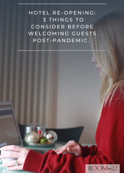 hotel opening post pandemic
